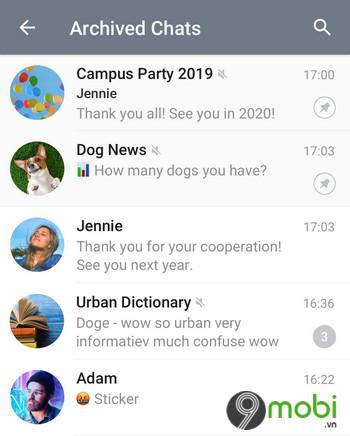 telegram cho android duoc thiet ke lai su dung bieu tuong ung dung moi 2