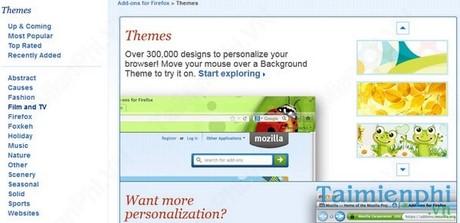 Firefox - new wallpaper changer for Firefox