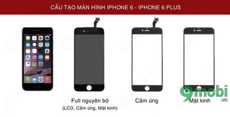 thay man hinh iphone 6 plus bao nhieu tien