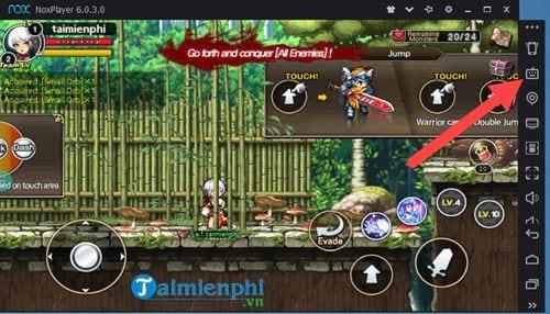 thiet lap ban phim ao de choi game tren noxplayer 2