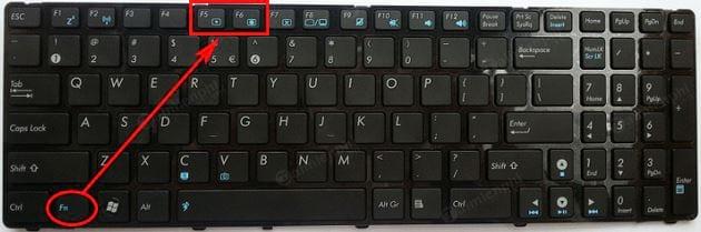 thiet lap tang giam do sang man hinh laptop asus 2