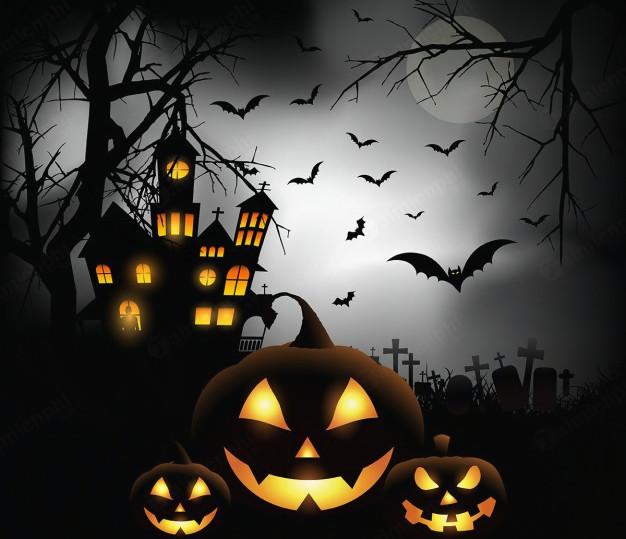 tin nhan doa ma halloween