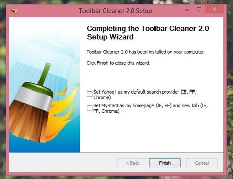 Toolbar Cleaner - Remove Toolbar efficient web browser