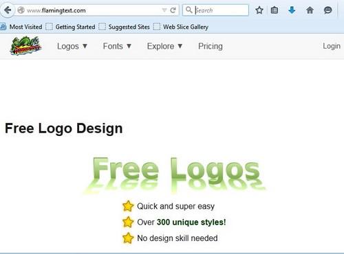 tao logo online don gian