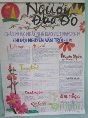 bai tho viet bao tuong 20/11