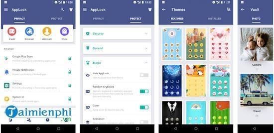 app khoa ung dung cho android