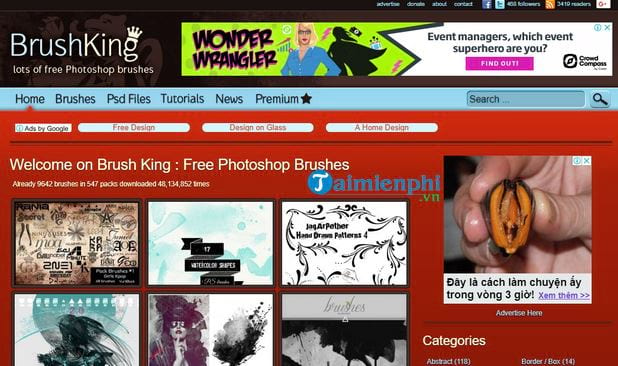 top trang web cung cap brush photoshop dep mien phi 2