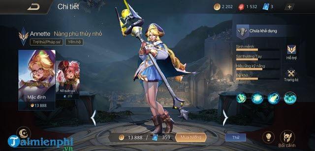 top tuong ganh team mua 11 lien quan mobile 2