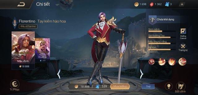 top tuong manh nhat mua 11 lien quan mobile 2