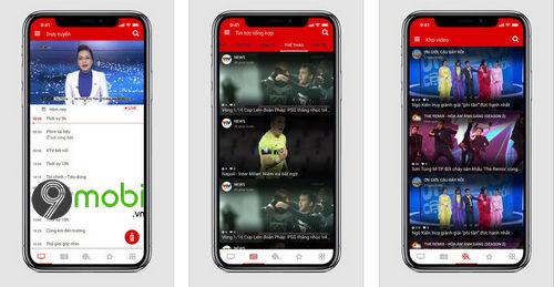 top ung dung xem asian cup 2019 tren smartphone 2