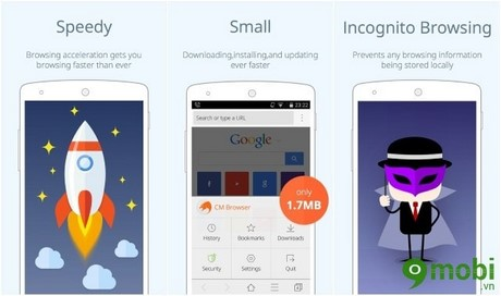 trình duyệt bảo mật cho Android