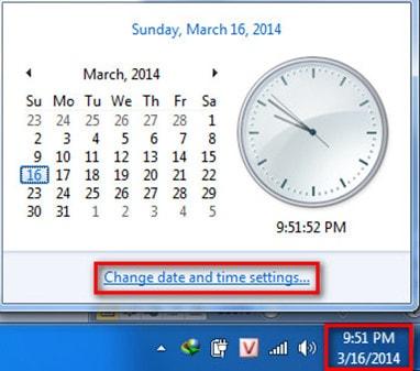 Hướng dẫn cách cập nhật giờtrên máy tính - hình 1