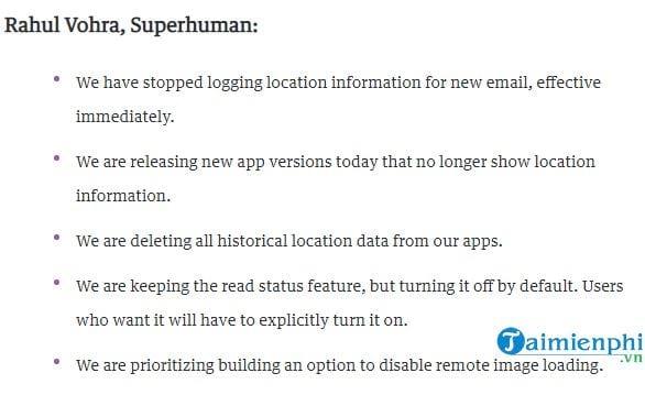 ung dung email superhuman tat theo doi vi tri sau tranh cai quyen rieng tu 2