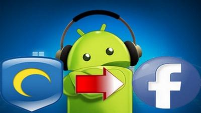 dang nhap facebook tren android
