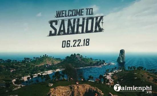 vi sao game thu thich choi map sanhok pubg hon 2