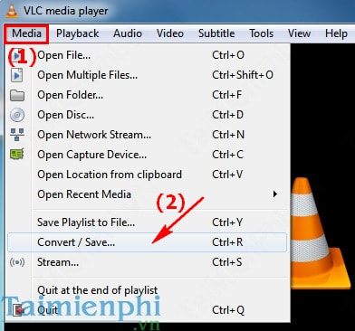 VLC Media Player - Video recording computer screen
