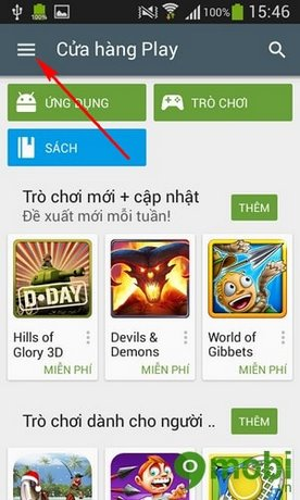 how to delete search history google play