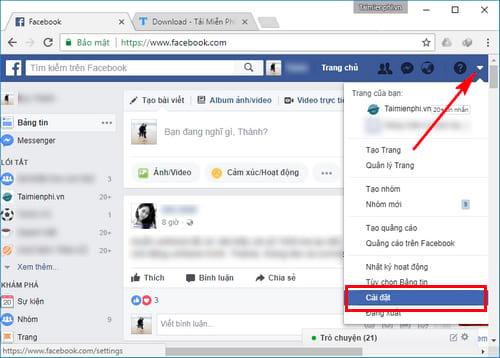 xoa tai khoan facebook