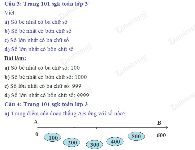 giai toan 3 trang 101 sgk luyen tap 2