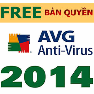 AVG Internet Security 2014 miễn phí, bản quyền 1 năm