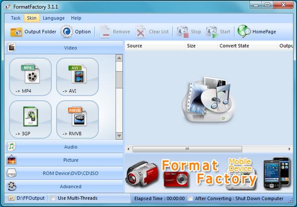 format factory gratuit 2.70