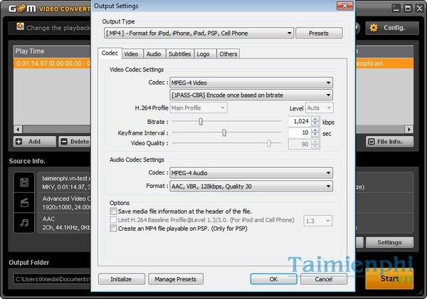 gom video converter 2.0.0.2