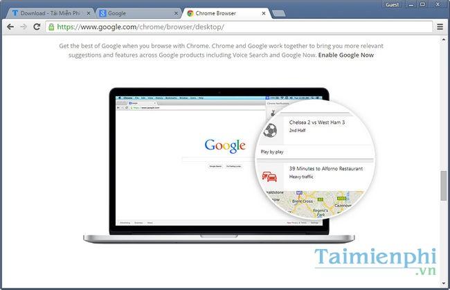 Google Chrome Portable -Download- Tải về - Duyệt web không cần cài đặt