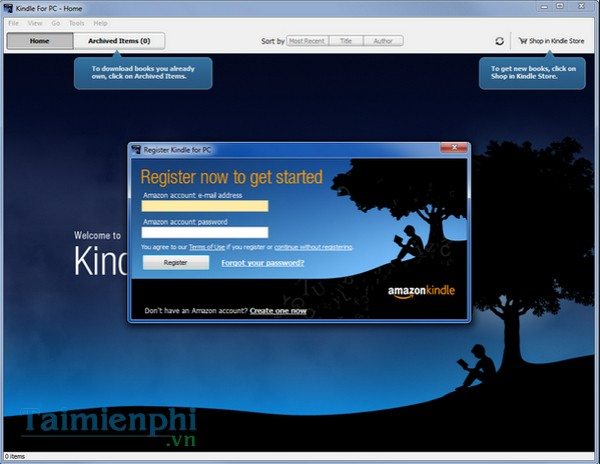 Download Kindle 1 26 55076 - Phần mềm ebook, hỗ trợ ebook -taimienphi