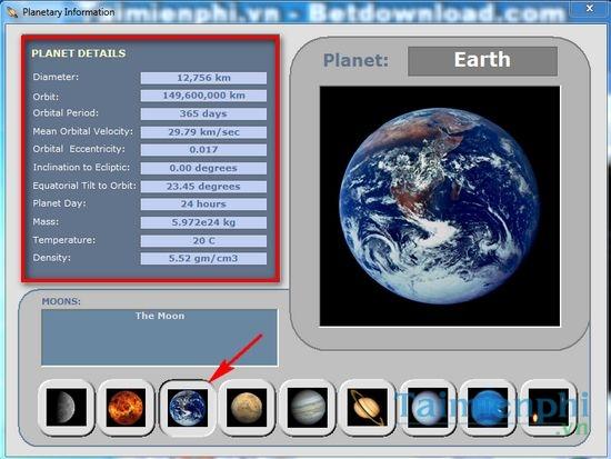 Solar System 3D - Mô phỏng chuyển động các hành tinh trong