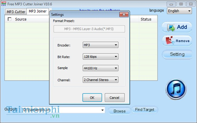 Download Free MP3 Cutter Joiner - Cắt, nối nhạc MP3