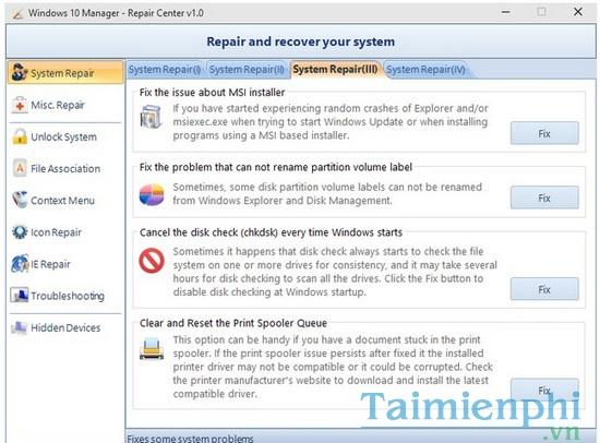 Download Windows 10 Manager 3 1 2 - Tối ưu, tùy chỉnh, tăng tốc Windo
