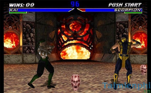 Game rồng đen Mortal Kombat MK4