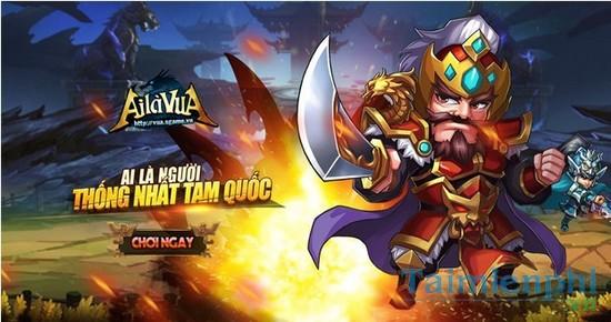 Download Ai Là Vua - Tựa game thẻ tướng hấp dẫn trên di động