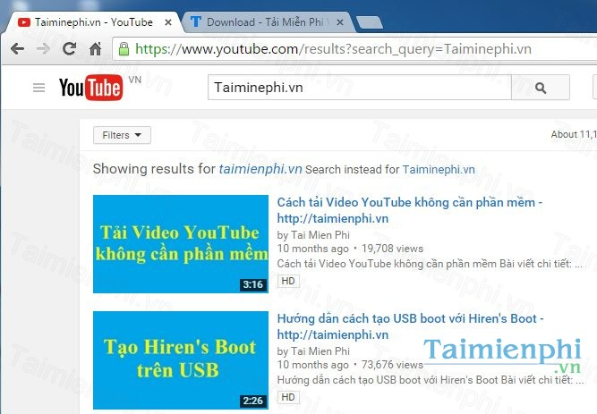 tai youtube
