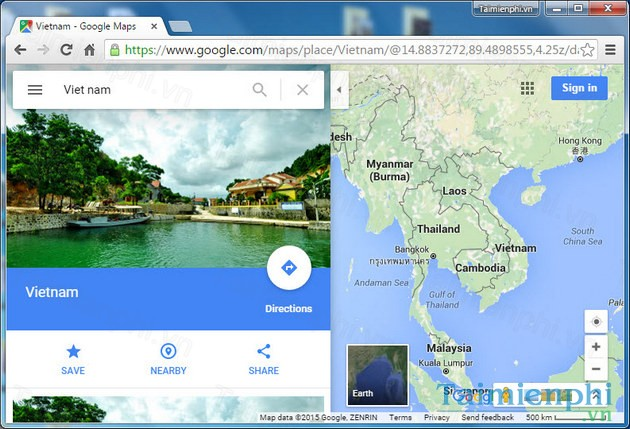mappe da google maps su pc