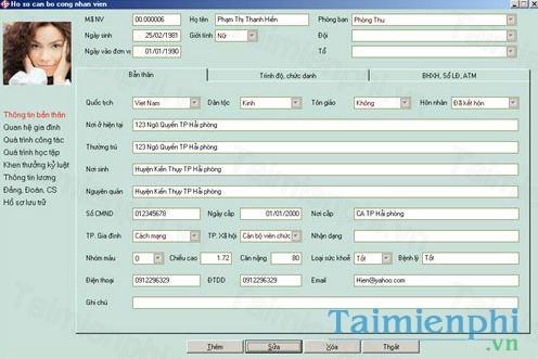 Phần mềm quản lý nhân sự F.PMS Light