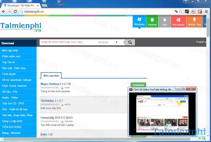 PIP Video. Download PIP Video - Phần mềm Ghim video trên ...