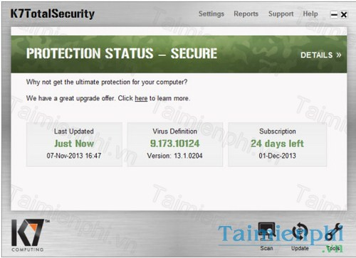 tai k7 total security