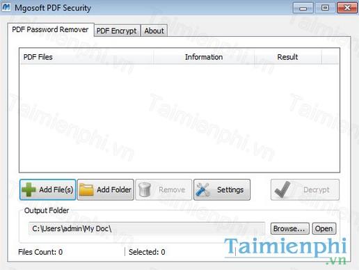 tai mgosoft pdf security sdk