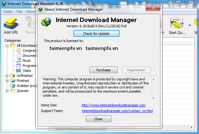 serial para internet download manager 6.26