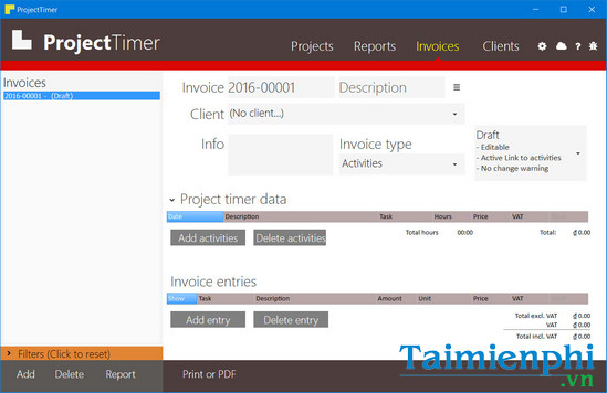 download project timer