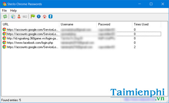 download sterjo chrome passwords