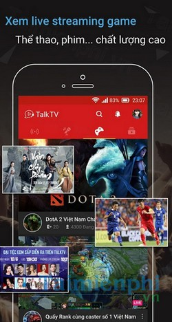 download talktv cho android