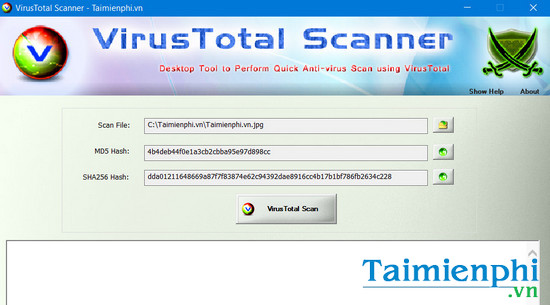 download virustotal scanner