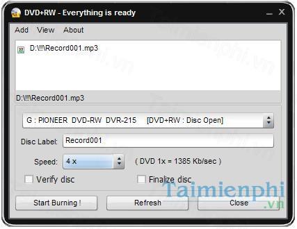 download easy disc burner