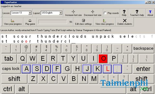 download typefaster typing tutor