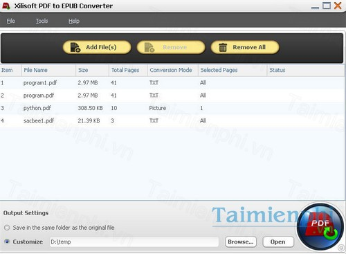pdf to epub converter download free