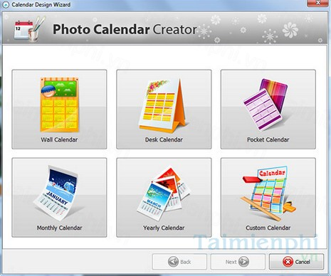 download photo calendar creator