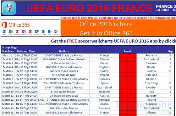 download lich thi dau euro 2016