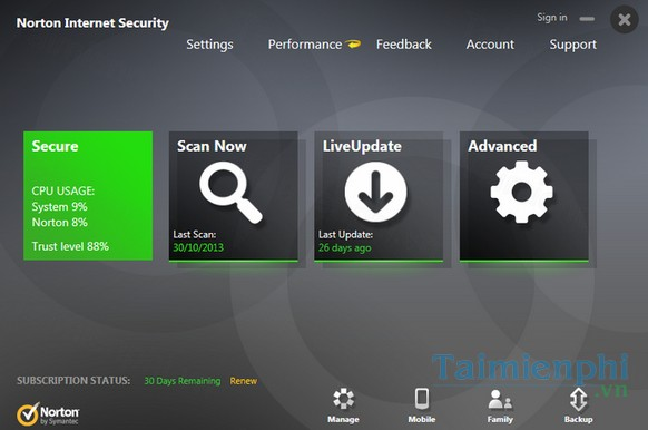 download notron internet security